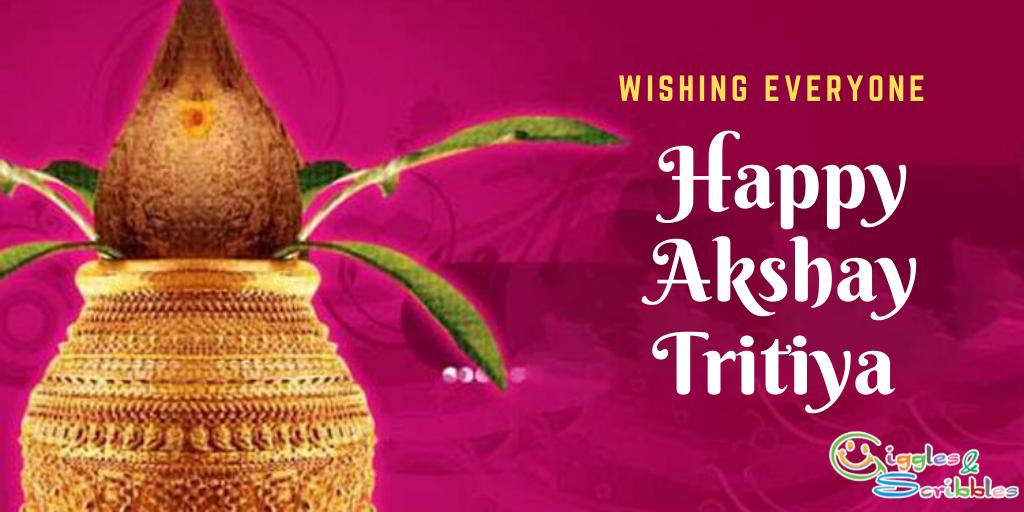 Happy Akshay Tritiya Poster 2020